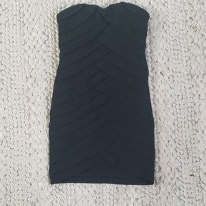 Wow couture black bandage dress